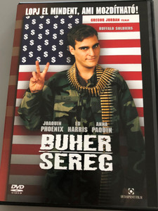 Buffalo Soldiers DVD 2001 Buher Sereg / Directed by Gregor Jordan / Starring: Joaquin Phoenix, Ed Harris, Anna Paquin, Scott Glenn, Haluk Bilginer (5999544249967)