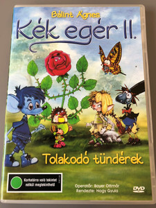 Kék egér II. Tolakodó tündérek DVD 1999 Blue mouse 2 / Written by Bálint Ágnes / Directed by Nagy Gyula / Hungarian paper-cutout animation film (5996357343950)