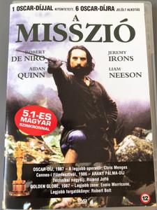 The Mission DVD 1986 A Misszió / Directed by Roland Joffé / Starring: Robert de Niro, Jeremy Irons, Ray McAnally, Aidan Quinn (5999881068504)