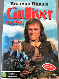 Gulliver's Travels DVD 1977 Gulliver Utazásai Directed by Peter R. Hunt / Starring: Richard Harris, Catherine Schell, Norman Shelley, Meredith Edwards (5990501940064)
