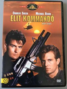 Navy Seals DVD 1990 Elit Kommandó / Directed by Lewis Teague / Starring Charlie Sheen, Michael Biehn, Joanne Whalley-Kilmer (5999546335958)