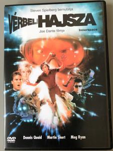 Innerspace DVD 1987 Vérbeli hajsza / Directed by Joe Dante / Starring: Dennis Quaid, Martin Short, Meg Ryan, Kevin McCarthy (5999010447361)