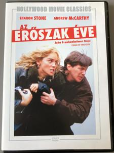 Year of the gun DVD Az erőszak éve / Directed by John Frenkenheimer / Starring: Sharon Stone, Andrew McCarthy, Valeria Golino, John Pankow (5999546335101)