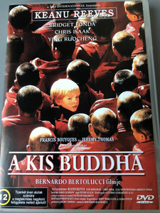 Little Buddha DVD 1993 A kis Buddha / Directed by Bernardo Bertolucci / Starring: Keanu Reeves, Bridget Fonda, Chris Isaak, Ying Ruocheng (5999545560658)