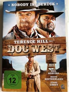 Doc West DVD 2009 / Directed by Terence Hill, Giulio Base / Starring: Terence Hill, Paul Sorvino / Der smarteste und coolste cowboy mit den blauesten augen der filmgeschichte ist zurück! (4041658225496)