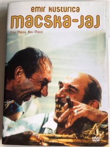 Crna mačka, Beli mačor DVD 1998 Macska-jaj (Black cat, white cat) / Directed by Emir Kusturica / Starring: Bajram Severdžan, Srđan Todorović, Branka Katić , Florijan Ajdini, Ljubica Adžović, Zabit Memedov (5999552130424.)