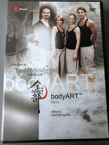 bodyART basic - otthoni edzésprogram DVD / Body fitness for home / bodyART team: Borsodi Balázs, Nagy dorka, Lencsés Rita, Füzessy Balázs (5997379506576)