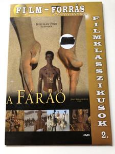 Faraon DVD 1965 A fáraó / Directed by Jerzy Kawalerowicz / Starring: Jerzy Zelnik, Wieslawa Mazurkiewicz, Krystyna Mikolajewska, Barbara Bryiska (5999555755013)