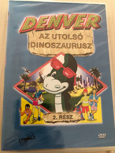 Denver, the Last Dinosaur part 2. DVD 1988 Denver, az utolsó dinoszaurusz 2. rész / Created by Peter Keefe (5999883217061)
