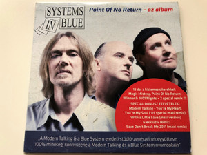 Systems in Blue - Point of no return - az album / Audio CD Pt CD-DVD 199 (5999549906414)