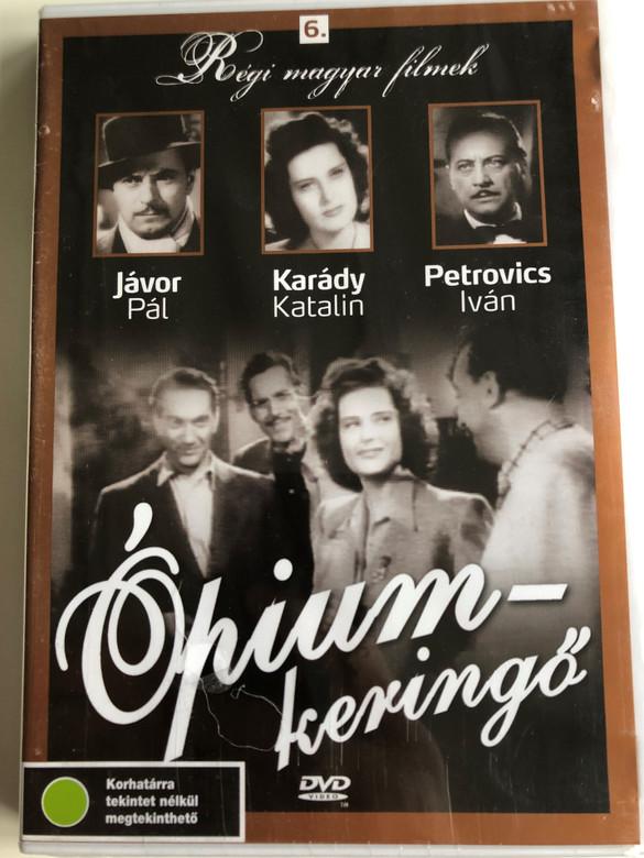 Ópiumkeringő DVD 1943 Opium-waltz / Directed by Balogh Béla / Starring: Karády Katalin, JávorPál, Soós Baksa László, Turáni C. Endre / Régi magyar filmek 6. / B&W Hungarian Classic (5999882685021)