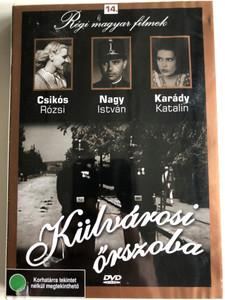 Külvárosi őrszoba DVD 1942 / Directed by Hamza D. Ákos / Starring: Csikós Rózsi, Nagy István, Karády Katalin / Régi magyar filmek 14. / Hungarian B&W Film (5999882685137)