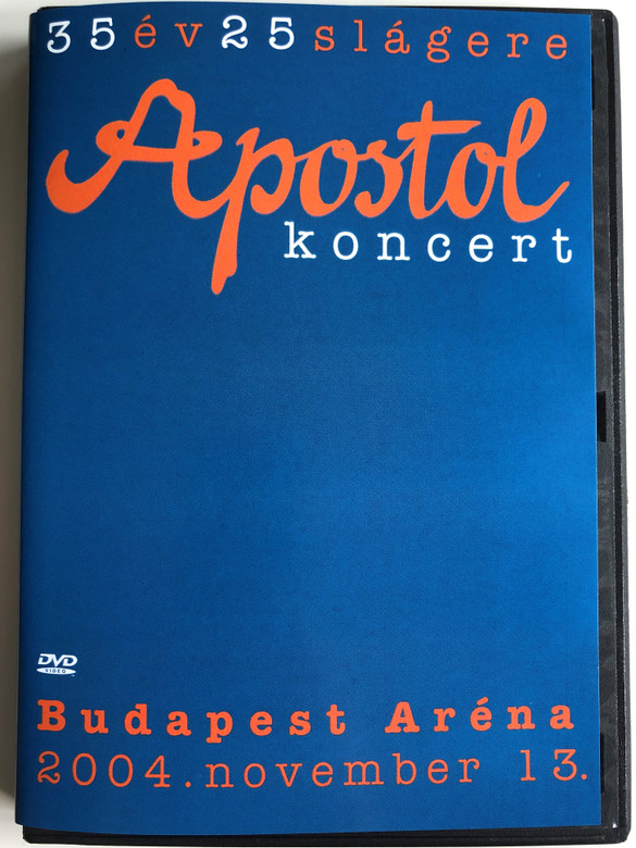 Apostol koncert DVD 2006 / 35 év 25 slágere / Budapest Aréna 2004 november 13. / Tom-Tom Records (5999524960875)
