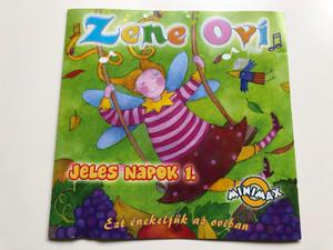 Zene Ovi - Jeles Napok 1. / Ezt enekeljuk az oviban / Sony BMG Music Entertainment Audio CD 2007 / 88697101852