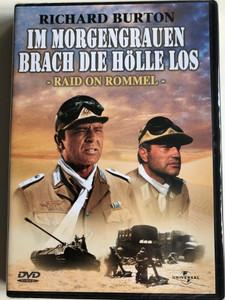 Raid on Rommel DVD 1971 Im Morgenrauen brach die hölle los / Directed by Henry Hathaway / Starring: Richard Burton, John Colicos, Clinton Greyn, Danielle de Metz (5050582030426)
