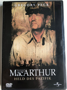 MacArthur DVD 1977 General Douglas MacArthur Held des Pazifik / Directed by Joseph Sargent / Starring: Gregory Peck, Ed Flanders, Dan O'Herlihy (5050582014839)