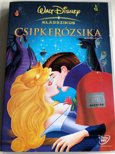 Sleeping Beauty DVD 1959 Csipkerózsika / Walt Disney Classic / Directed by Clyde Geronimi / Starring: Mary Costa, Bill Shirley, Eleanor Audley, Verna Felton (5996255708813)