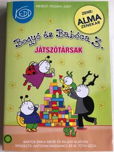 Bogyó és Babóca DVD 2011 3. rész / Directed by Antonin Krizsanics / Narrated by: Pohány Judit / 13 Új mese / 13 new Hungarian stories for children by Bartos Erika (5999563023340)