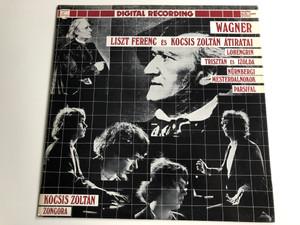 Wagner - Liszt Ferenc És Kocsis Zoltán Átiratai / Lohengrin, Trisztan es Izolda, Nurnbergi, Mesterdalnokok, Parsifal / Piano: Kocsis Zoltán / Hungaroton LP Stereo / SLPD 12494