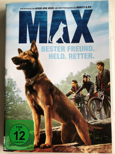 Max DVD 2015 Max Bester Freund. Held. Retter / Directed by Boaz Yakin / Starring: Josh Wiggins, Lauren Graham, Thomas Haden Church