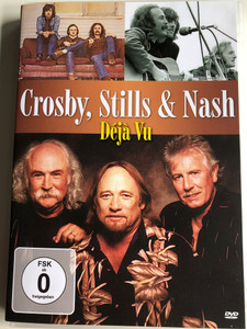Crosby, Stills & Nash - Déjá Vu DVD / Taken At All, Chicago, Helplessly Hoping, Wooden Ships, Our House (7640119255217)