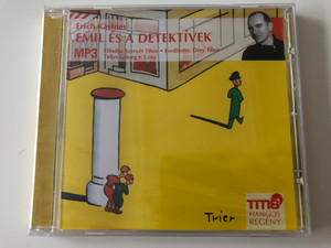 Emil és a Detektívek by Erich Kästner / Hungarian Audio book - Emil und die Detektive / Read by Szervét Tibor / Translation: Déri Tibor / MP3 CD 2006 (9786155157035)