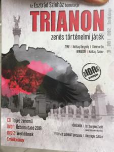 Trianon - Zenés történelmi játék DVD SET / CD + 2x DVD 2018 / Hungarian Rock opera / Directed by Koltay Gábor / Music By Koltay Gergely, Kormorán / Bene Zoltán, Benkő Péter, Palcsó Tamás, Ruttkay Laura (5999860095279)