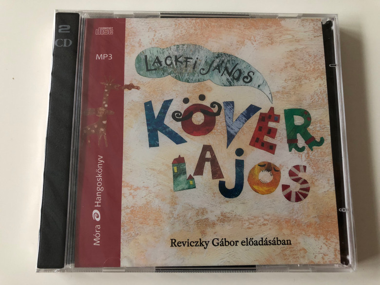 Kövér Lajos by Lackfi János / Hungarian language MP3 Audio Book / Read by Reviczky Gábor / Móra könyvkiadó 2015 / 2x mp3 CD (9789634151999)