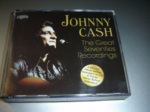 Johnny Cash - Great Seventies Recording / Reader's Digest / Sony Music / 4 CD Compilation