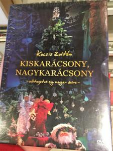 Kocsis Zoltán - Kiskarácsony, nagykarácsony DVD 2010 / változatok egy magyar dalra - variations on a hungarian song / National Philharmonic Orchestra Hungary / Directed by Kocsis Zoltán (5999541752514)