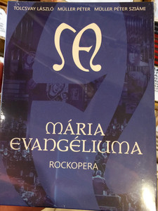 Mária Evangéliuma DVD Rockopera / The Gospel of Mary - Hungarian Rock Opera / Conducted by Hollerung Gábor / Miksch Adrienn, Nyári Zoltán, Haja Zsolt / Directed by Böhm György / Recorded 2016 october / GR090 (5999887248313)