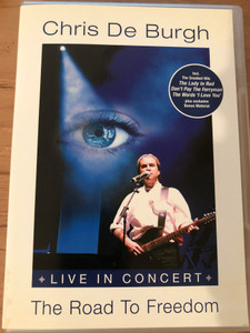 Chris Burgh - The Road to freedom DVD 2004 / Live in Concert / Recorded 2004 in Germany / Edel Records (4029758534281)