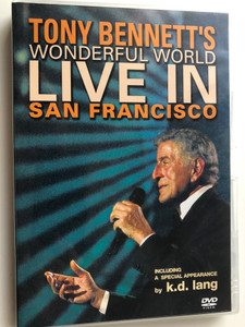 Tony Bennett's Wonderful World DVD 2002 / Live in San Francisco / Special appearance by K. D. Lang / (5099720179597)