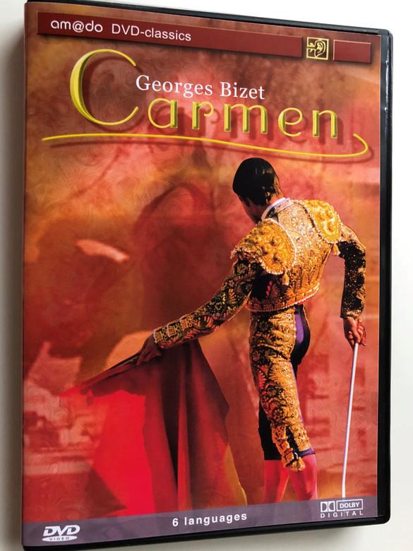 Georges Bizet - Carmen DVD 2002 / am@do classics / Malgorzata Walewska / Mario Malagnini, Boaz Senator, Ulrike Sonntag, Ivan Tomasev / Stagione d' Opera Italiana, Honvéd Ensemble Budapest, Flamenco Tanztherater Barcelona (4028462600114)