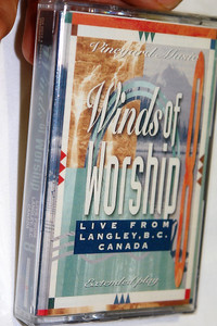 Winds Of Worship, Vol. 8 / Live From Langley, B.C., Canada / Vineyard Music - Audio Cassette /‎ VMD9242