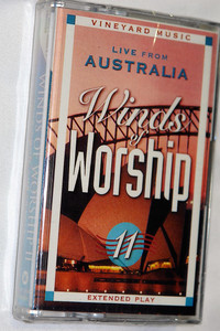 Live From Australia / Winds Of Worship, Vol. 11 / Vineyard Music - Audio Cassette /‎ VMC9266