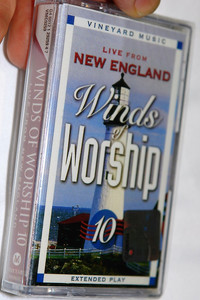 Live from New England / Winds of Worship Vol. 10 / Vineyard Music ‎– Audio Cassette / VMC9259