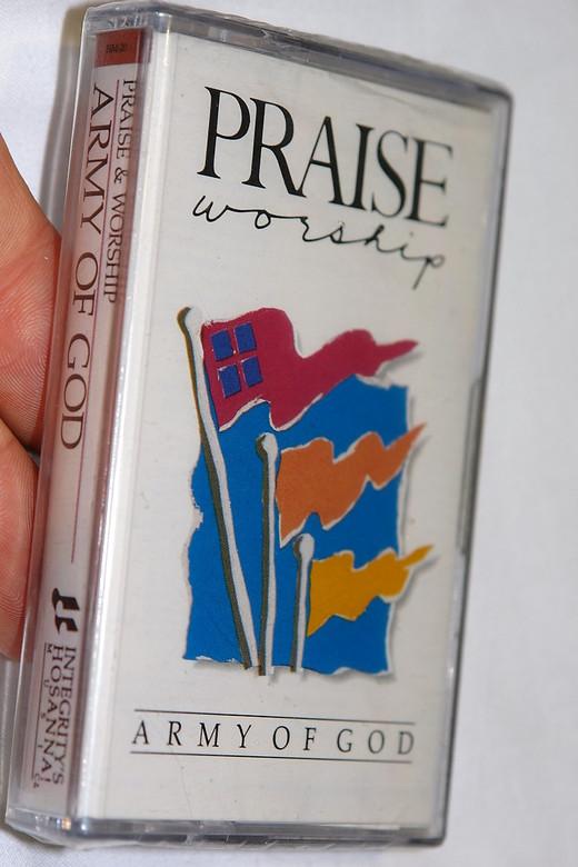 Praise & Worship - Army Of God / Integrity's Hosanna! Music – Audio Cassette / HM-20