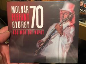 Molnár Elefánt György 70 - Adj még egy napot, Genesis / Audio CD 2019 / Grundrecords (5999860095378)