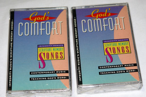 God's Comfort / Contemporary Music, Teaching God's word / Integrity Music ‎– Audio Cassette / IMC323