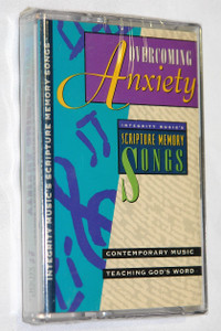Overcoming Anxiety / Contemporary Music, Teaching God's word / Integrity Music ‎– Audio Cassette / IMC301