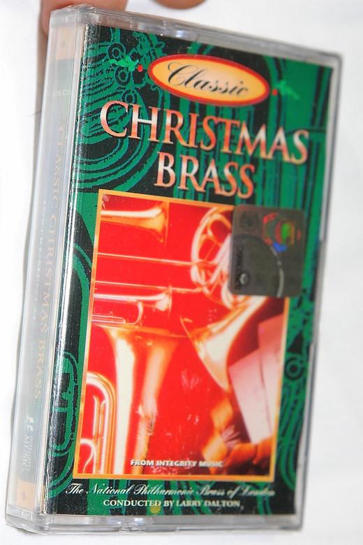 Christmas Brass / The National Philharmonic Brass Of London / Conducted: Larry Dalton / Integrity Music – Audio Cassette / 4315 CS