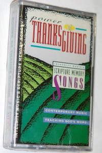 Power of Thanks Giving / Contemporary Music, Teaching God's Word / Integrity Music - Audio Cassette / IMC313
