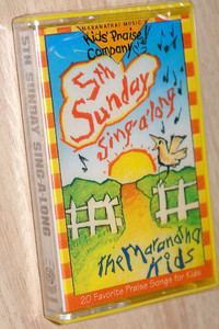 5th Sunday Sing-a-long / Kid's Praise Company / Maranatha Music - Audio Cassette / 080688362348