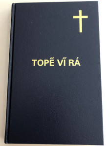 Topẽ Vĩ Rá - O Novo testamento / The New Testament in Kaingang language / Bible Society Brasil 2005 / Hardcover, 2nd edition (8531108721)