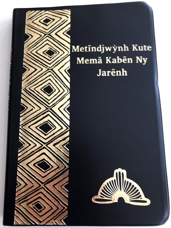 Metĩndjwýnh Kute Memã Kabẽn Ny Jarẽnh - O Novo testamento / The New Testament in Kayapó language / Bible Society Brasil 2015 / Vinyl bound / Red page edges / 3rd edition with illustrations & dictionary (KayapóNT)