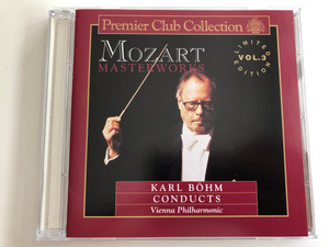 Mozart - Masterworks / Limited Edition Vol.3 / Conducted: Karl Bohm / Vienna Philharmonic / Premier Club Collection Audio CD 1992 / PCC 003