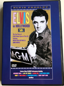 Elvis in Hollywood - 50's DVD 2000 / Directed by Frank Martin / Inside look at Elvis Presley's movie career of the 50's (743215077794)