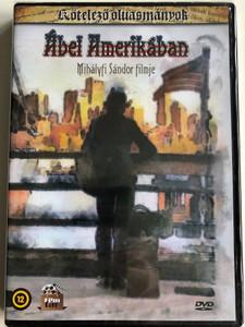 Ábel Amerikában DVD 1998 Abel in America / Directed by Mihályfi Sándor / Starring: Ilyés Levente, Miske László, Bánsági Ildikó, Szabó Sándor / Written by Tamási Áron / Kötelező Olvasmányok (5999542819582)