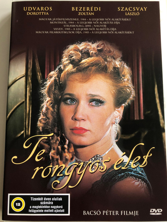 Te rongyos élet DVD 1983 Oh, Bloody Life / Directed by Bacsó Péter / Starring: Bezerédi Zoltán, Kern András, Rubold Ödön, Szacsvay László, Udvaros Dorottya / Hungarian comedy film (5996357322177)